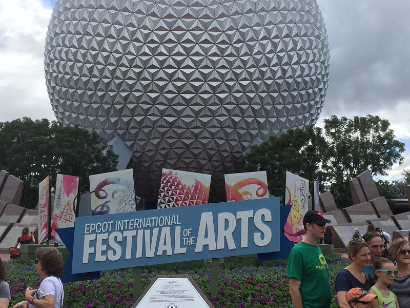Eating through Epcot's Festival of the Arts