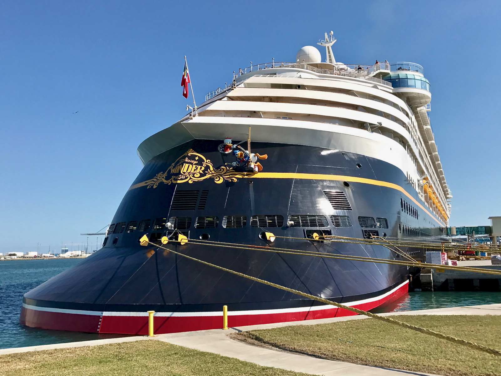 Mouseplanet Visiting The Enhanced Disney Wonder Cruise Ship By - Is disney building a new cruise ship