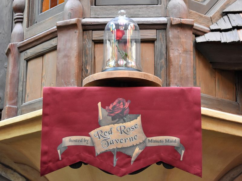 Disneyland's Red Rose Taverne:  Be Our Guest
