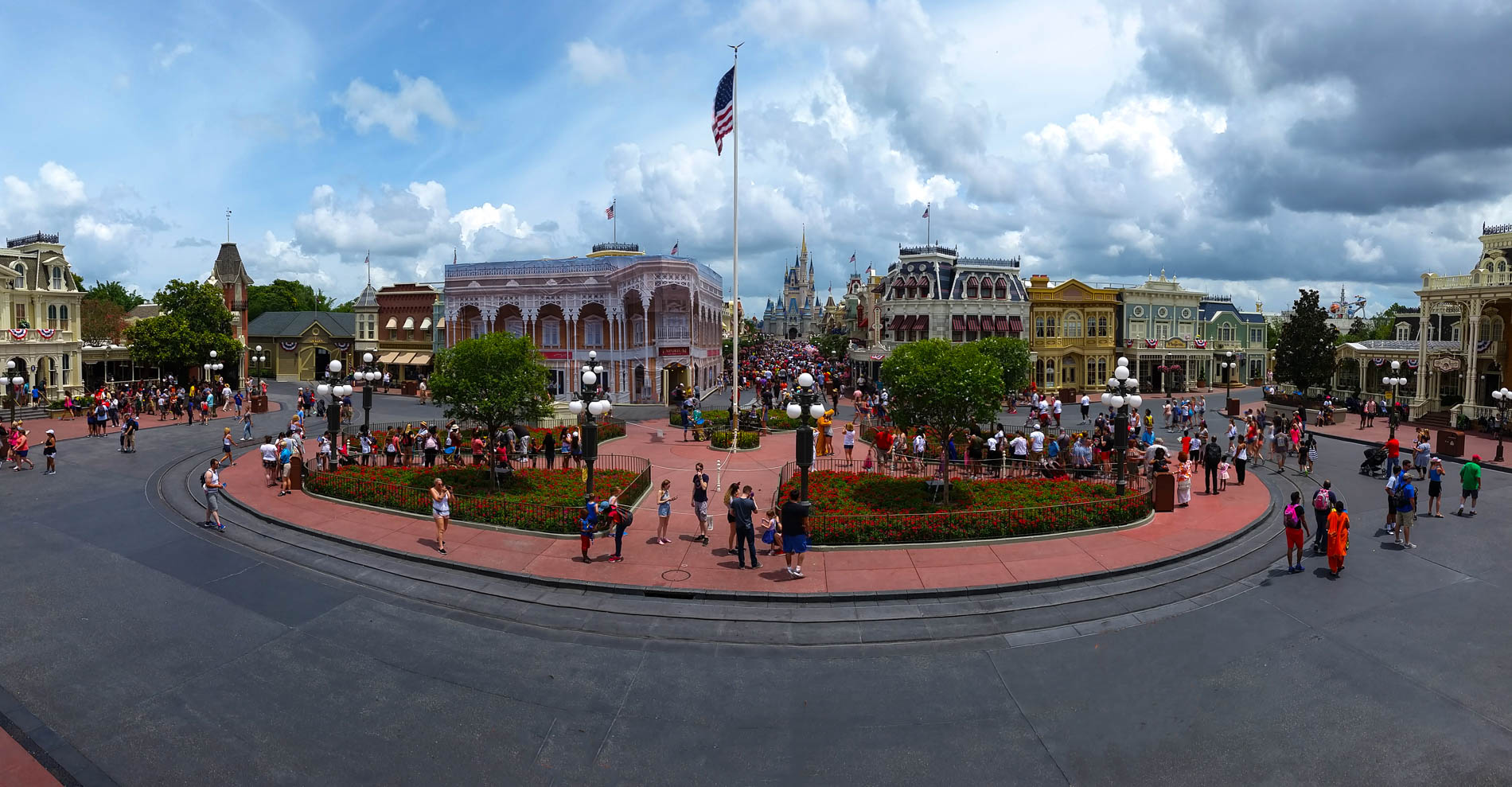 Image result for main street usa towards train station