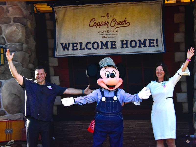 Opening Day at Copper Creek Villas and Cabins