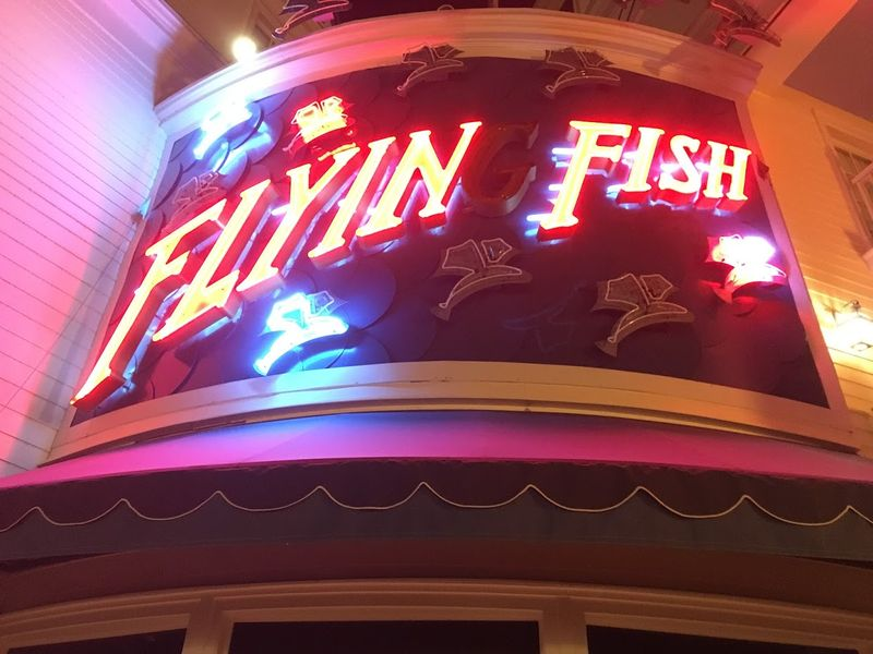 Tasty Seafood at Flying Fish on Disney's Boardwalk