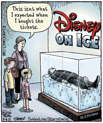 Mouseplanet Walt Disney Was Not Frozen By Jim Korkis