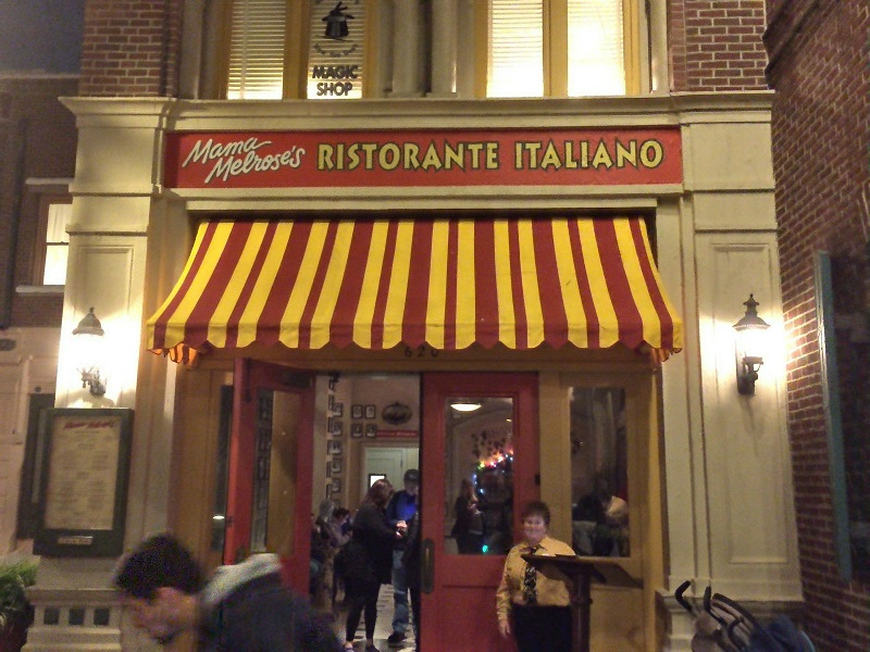 Old School Italian Dining at Mama Melrose's