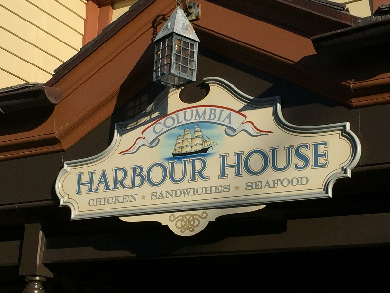 Columbia Harbour House - New England Meets the Magic Kingdom