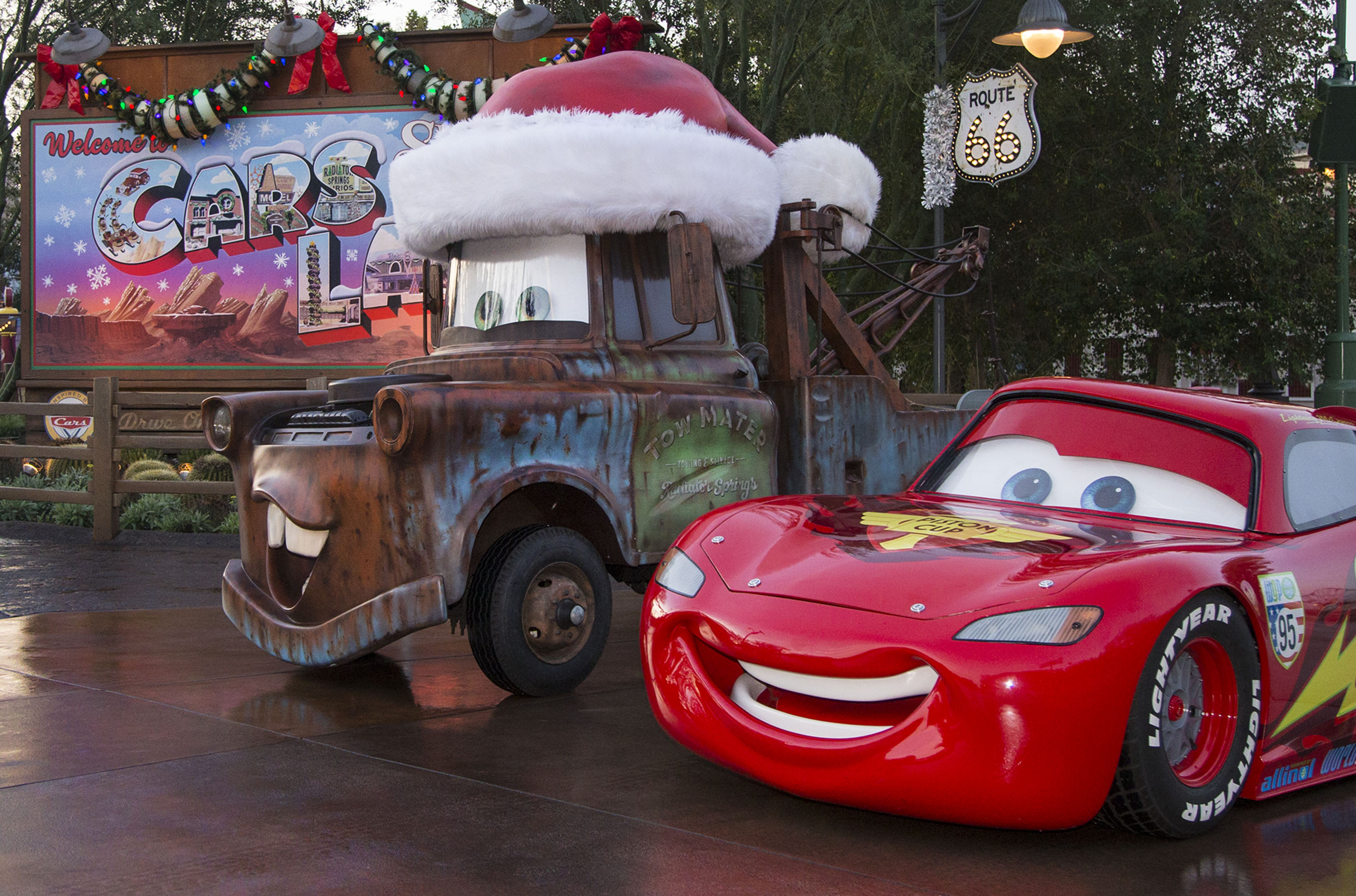 another holiday overlay is planned for cars land photo disney