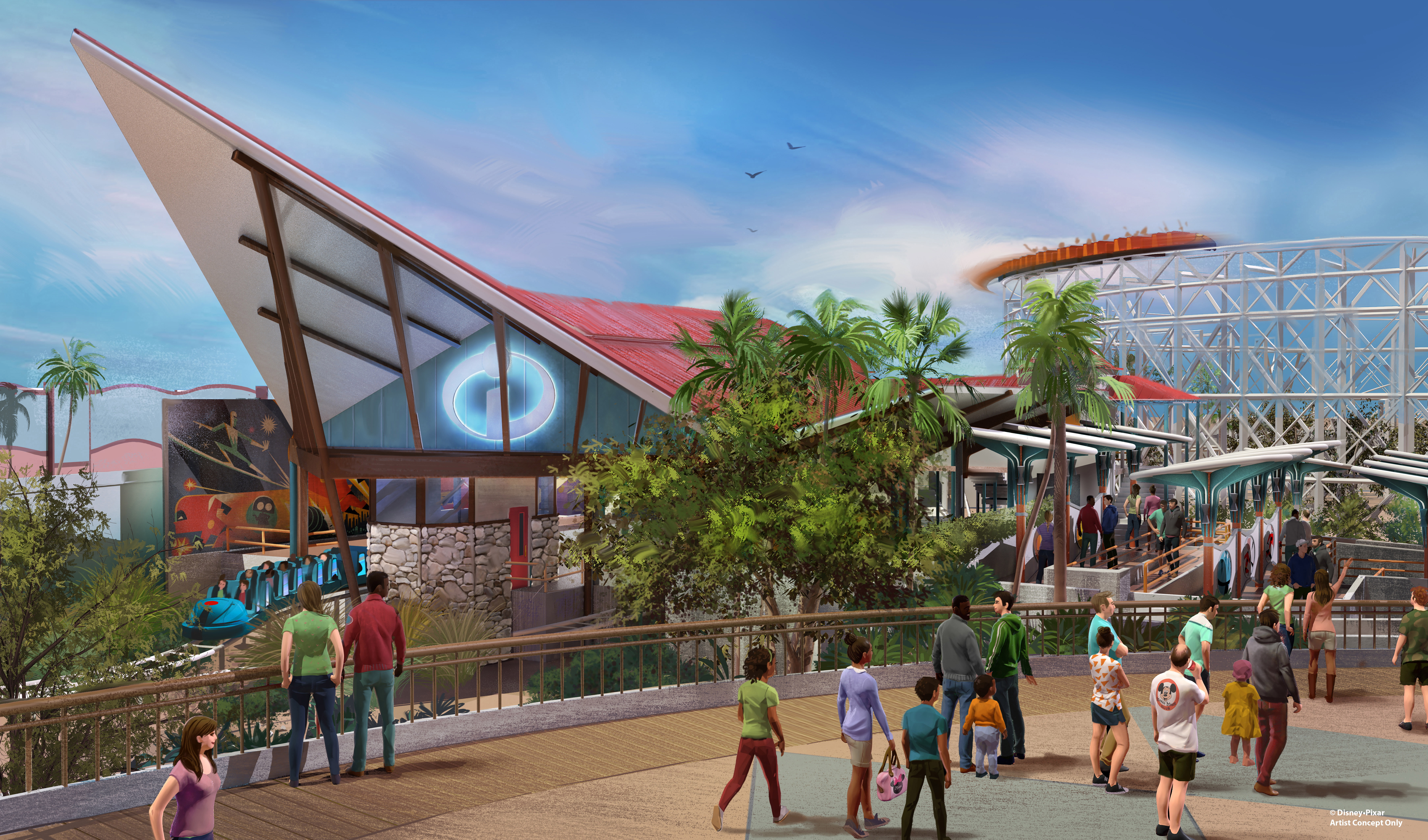 Mouseplanet disneyland resort update for november 6 november 12 the incredicoaster is a new permanent makeover for california screamin photo disney publicscrutiny Images