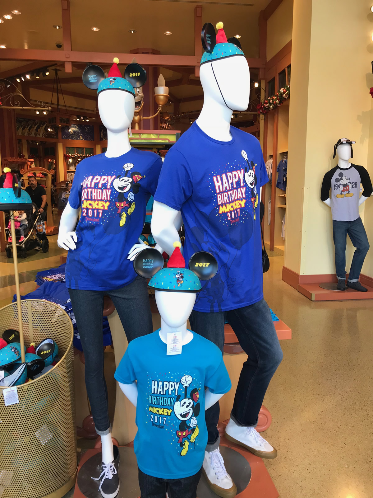 Disneyland Shops Sold Shirts And Ear Hats To Commemorate The Birthday Of Mickey Mouse Photo By Adrienne Vincent Phoenix