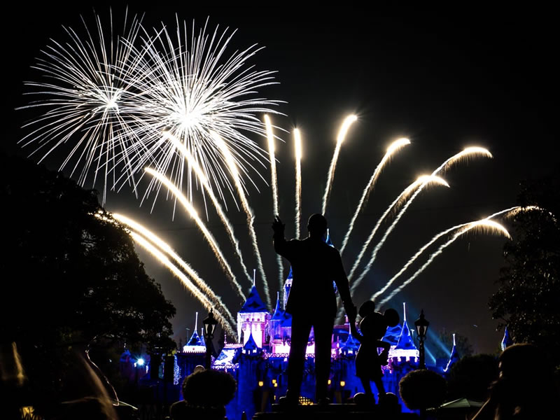 Highlights: Believe... in Holiday Magic fireworks from Disneyland