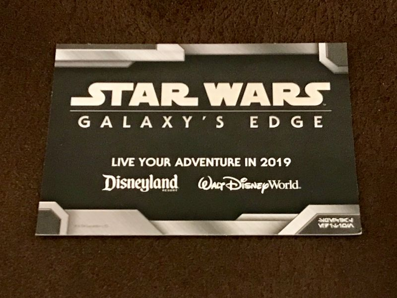 Disney Parks Star Wars Special December 2017 Update for Both Coasts