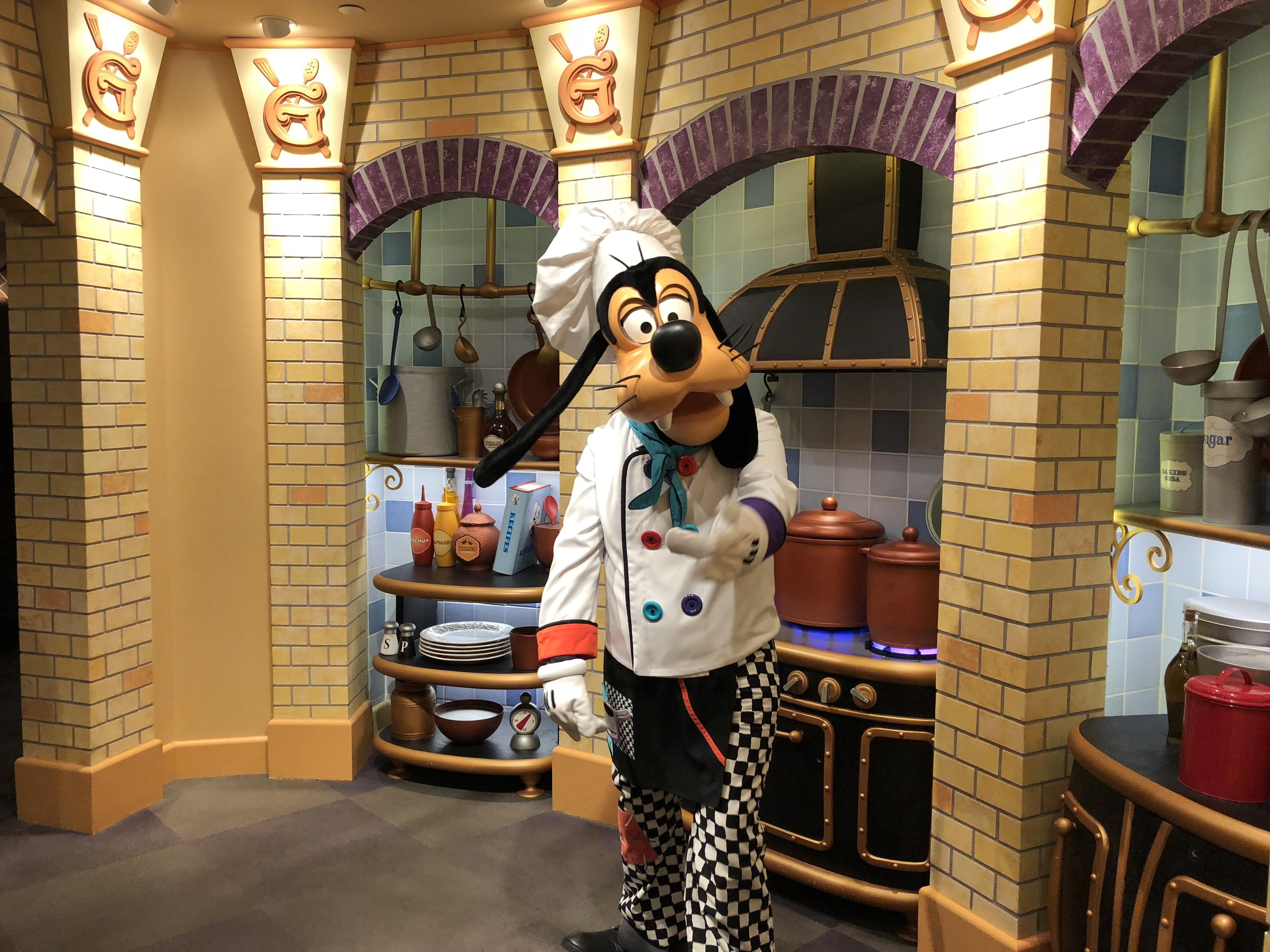 Mouseplanet Gawsh A Review Of Goofy S Kitchen By Megan Walker