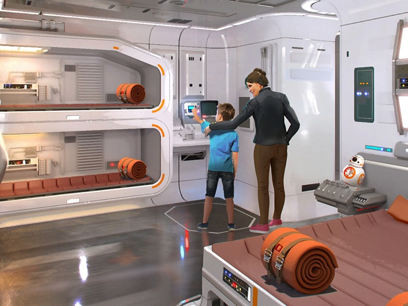 What will it be like in a Star Wars Resort?