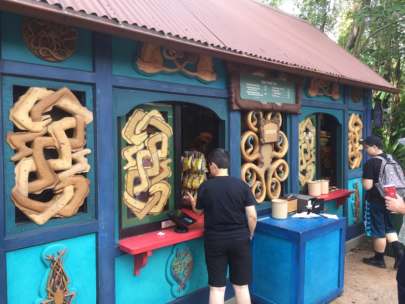 Animal Kingdom Kiosk dining