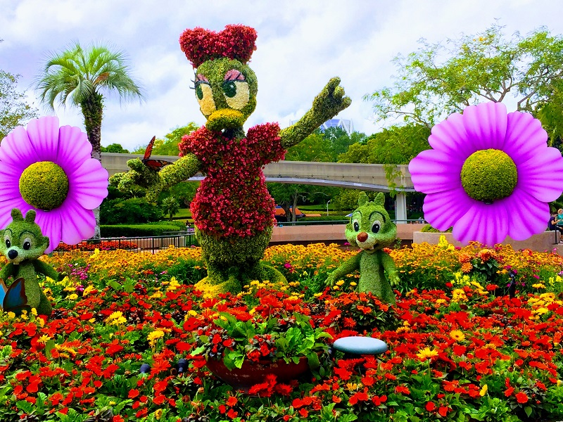 Eater's Guide to Epcot's International Flower & Garden Festival