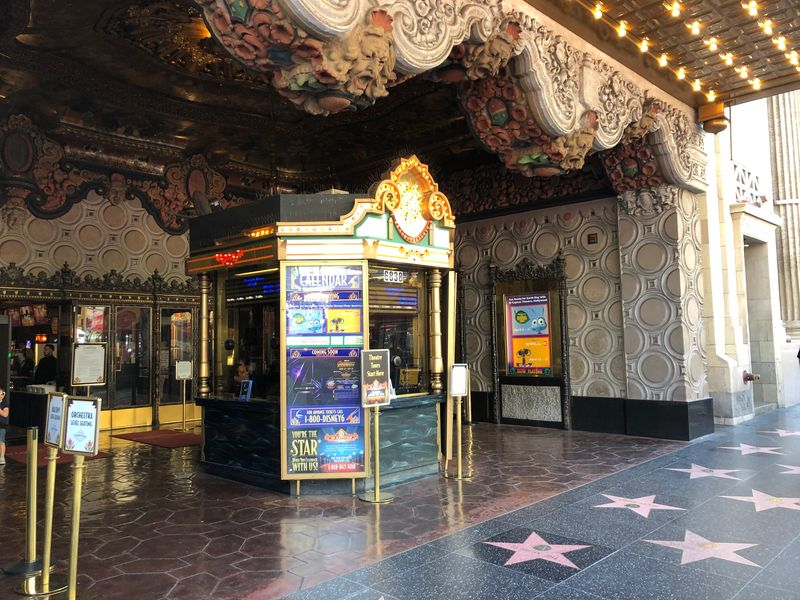 Hollywood's El Capitan Movie Palace