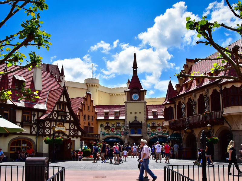 Epcot's Germany Pavilion: A Photo Tour