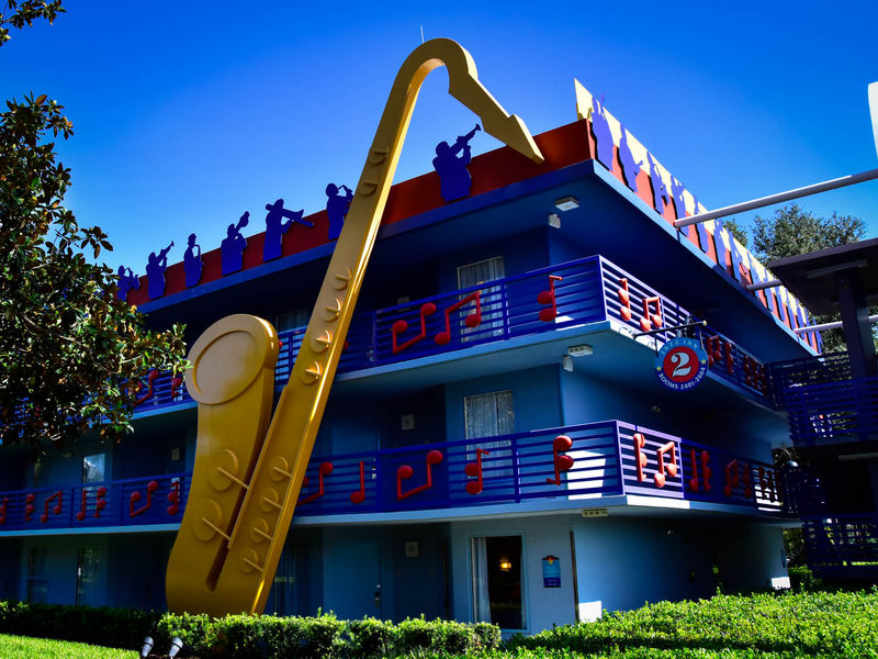 Disney's All Star Music Resort: A Photo Tour