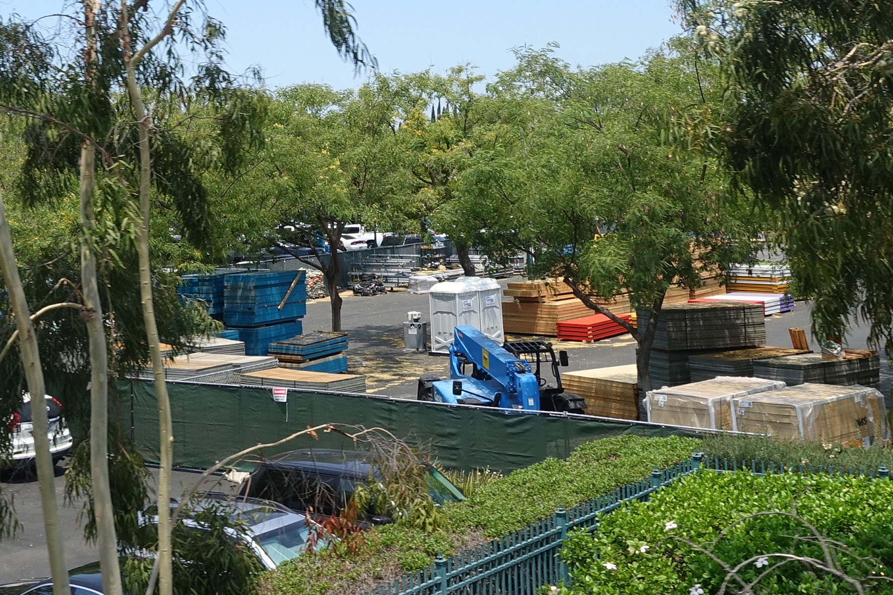 A Portion Of The Downtown Disney Lot Is Closed To