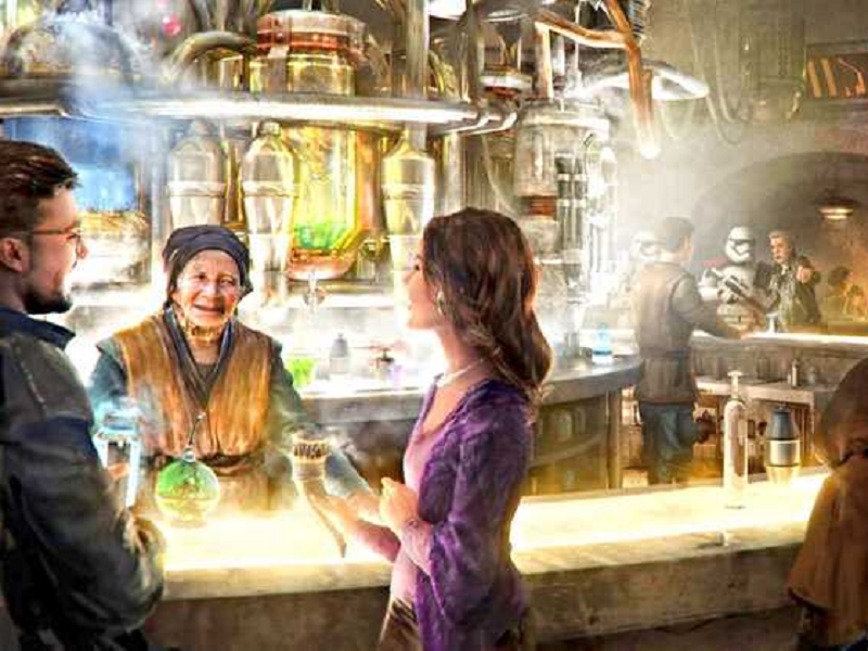 The Star Wars Cantina will Become a Reality in Galaxy's Edge