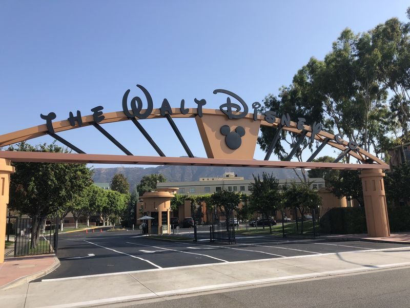 Touring the Walt Disney Studios in Burbank