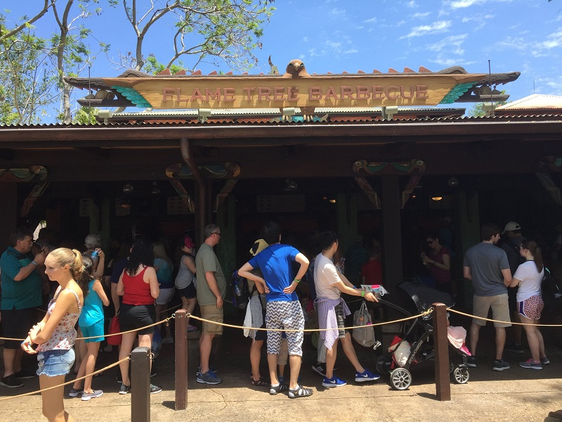 Flame Tree Barbecue at Disney's Animal Kingdom Park
