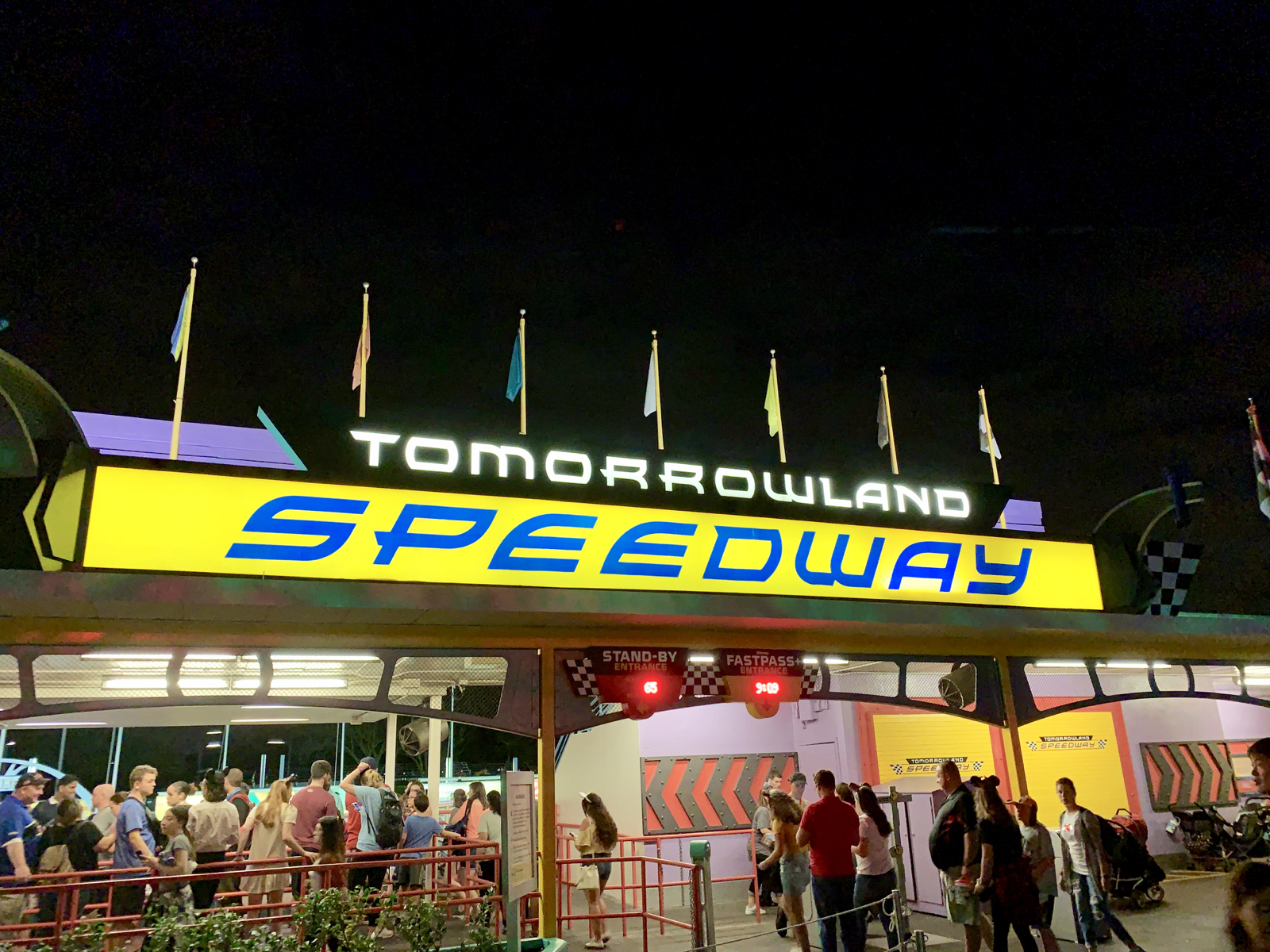 ec756e878d3 ... Day and is now closed to accomodate construction and track  re-configuration for the TRON Lightcycle-themed rollercoaster coming to  Tomorrowland in 2021.