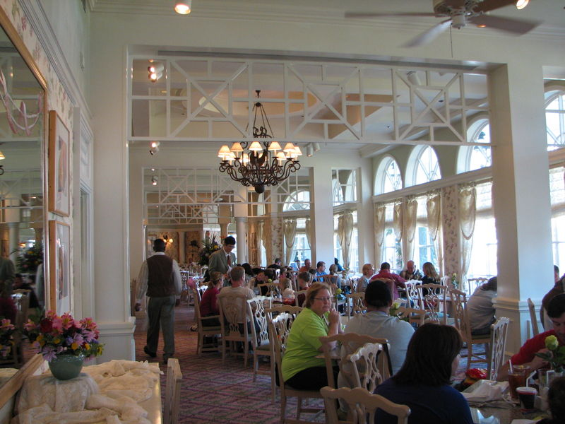 The Vacation Kingdom of the World: Dining at the Grand Floridian
