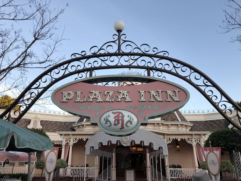Dining at Main Street's Plaza Inn