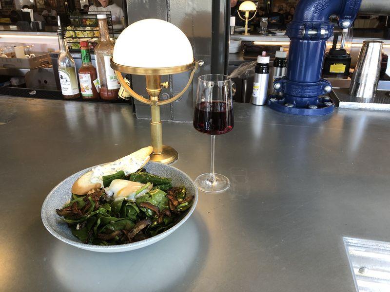 Food & Wine Pairings at Lamplight Lounge