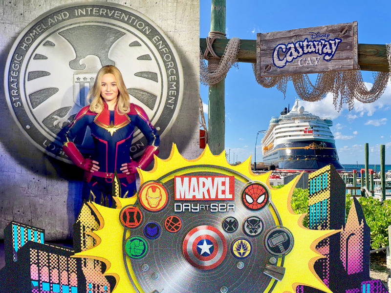 Captain Marvel Debuts and Sails Disney Magic During a Marvel Day at Sea