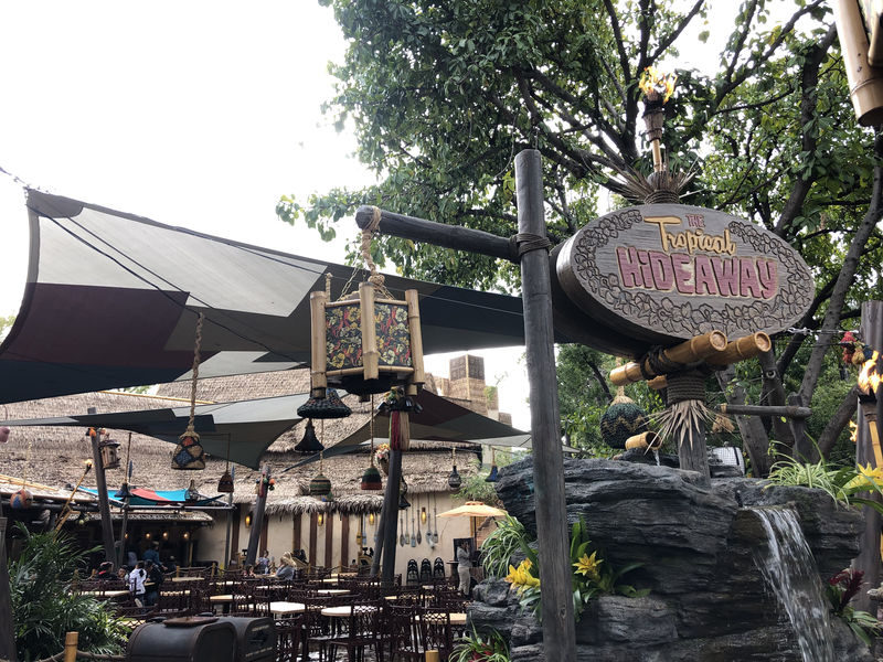 The Tropical Hideaway: The Newest Oasis at Disneyland