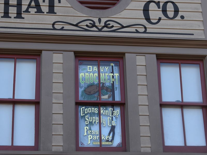 The Tribute Windows (and Other Salutes) to Disney Legends at Disneyland.