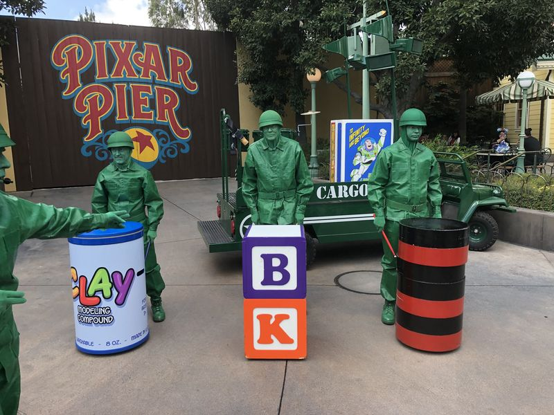Pixar vs. Disney Animation at the Disneyland Resort
