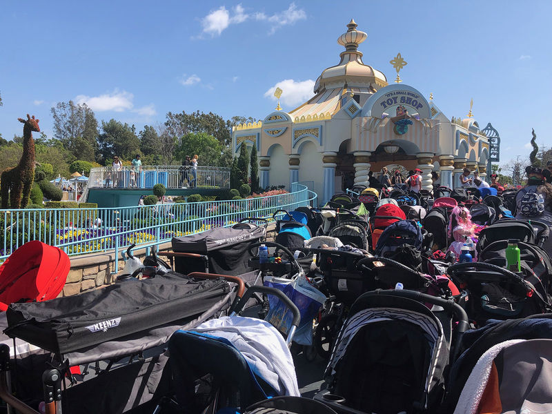 Disney Parks Updates Stroller Policy Effective May 1, 2019