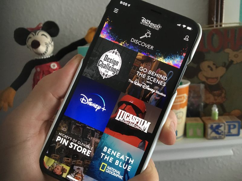 Download the D23 Expo 2019 App