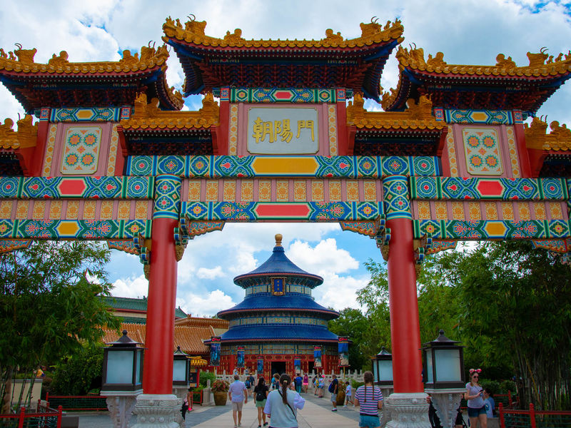 Epcot's China Pavilion: A Photo Tour