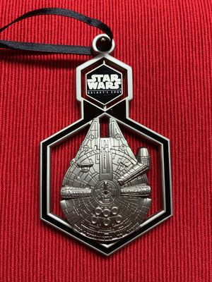 Star Wars Millenium Falcon ornament