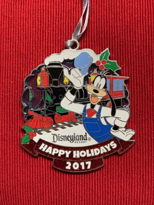 Disneyland Railroad Goofy ornament