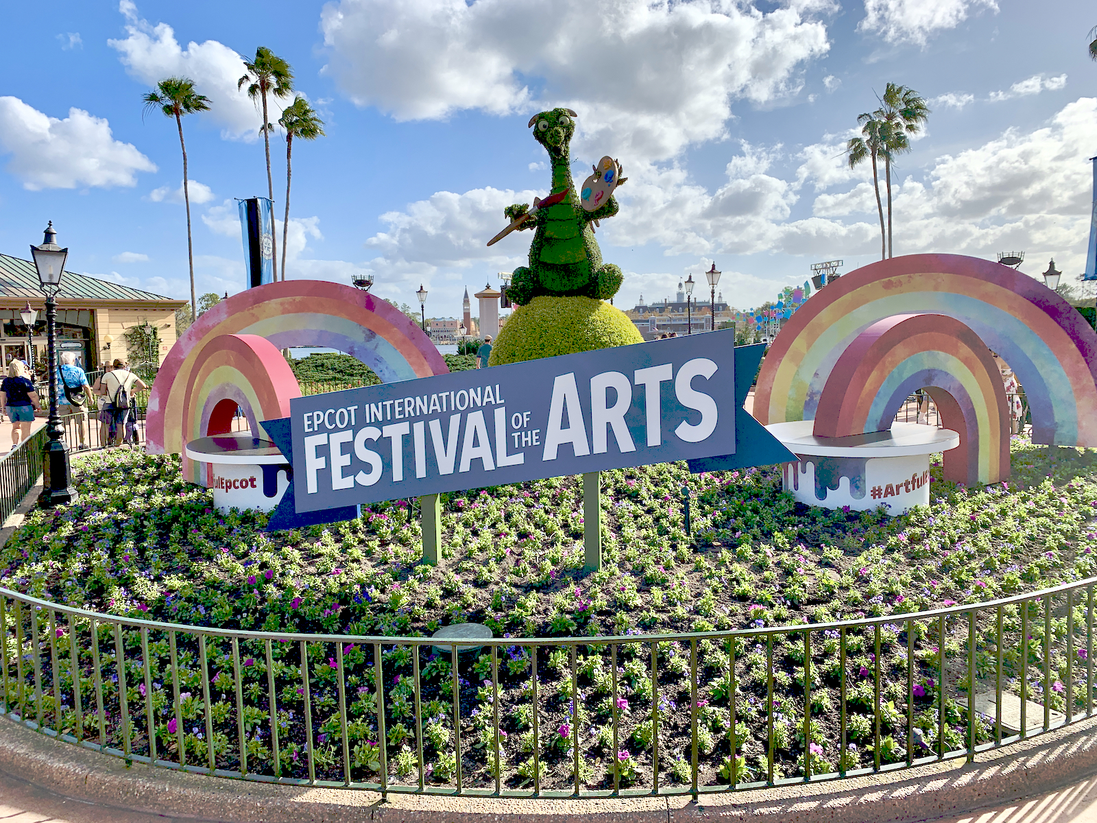 Disney Epcot Festival Arts 2018 Pack Guidemaps Passports Gift Card Figment 2 Other Contemporary Disney Collectables