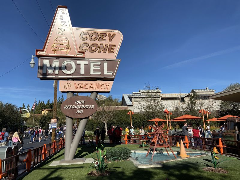 Make a Pit Stop at the Cozy Cone Motel