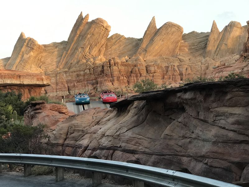 A Drive-Through Tour to Celebrate Cars Land's Birthday