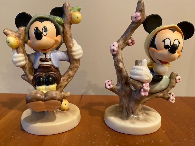 The Mickey Mouse Figurine
