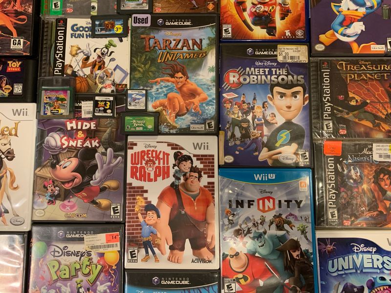 My Disney Top 5 - Disney Video Games