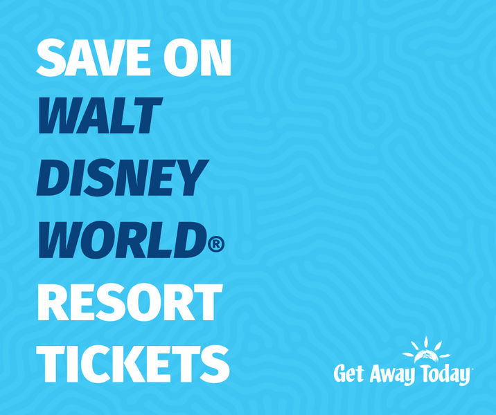 Save on WDW Tickets with Get Away Today