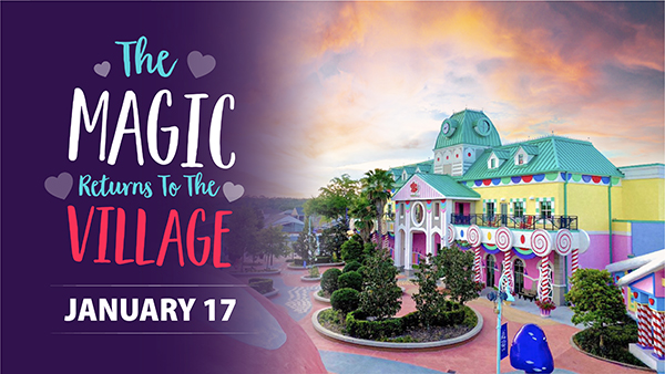Give Kids The World Village to Reopen January 17, 2021