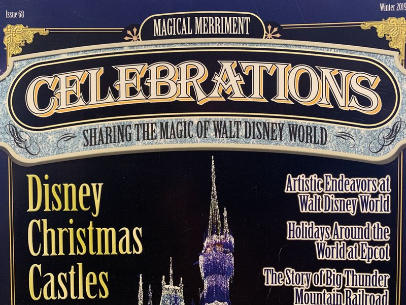 My Disney Top 5 - Things To Love About Celebrations Magazine