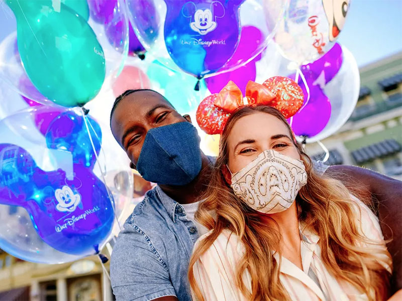 Walt Disney World Eases Mask Requirement