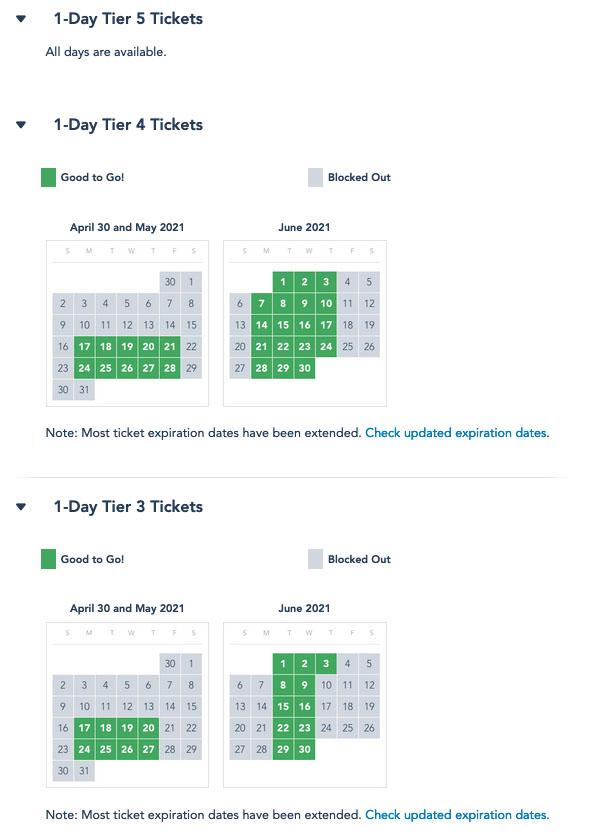 Disneyland Calendar 2022.Mouseplanet Decoding Disneyland S Tiered Ticketing Structure By Adrienne Vincent Phoenix