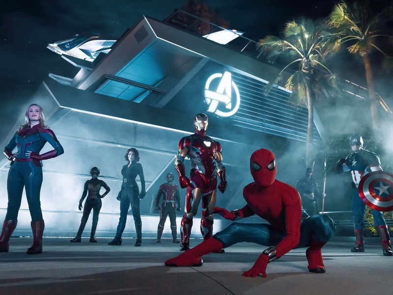 Avengers Campus Dedication and First Look