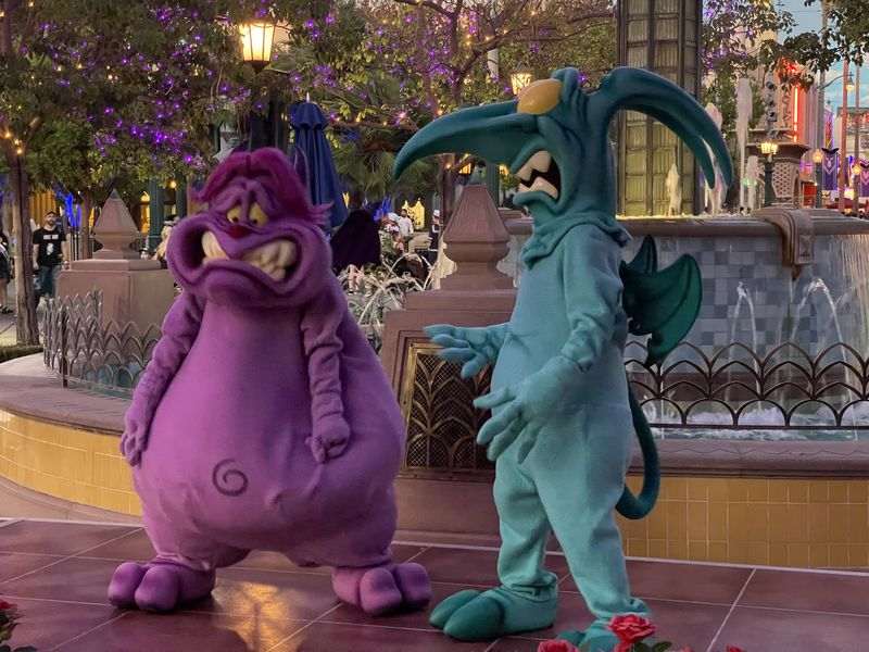 Oogie Boogie Bash Villains in Full Force